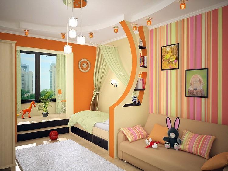 Дизайн комнаты для мальчика и девочки подростков